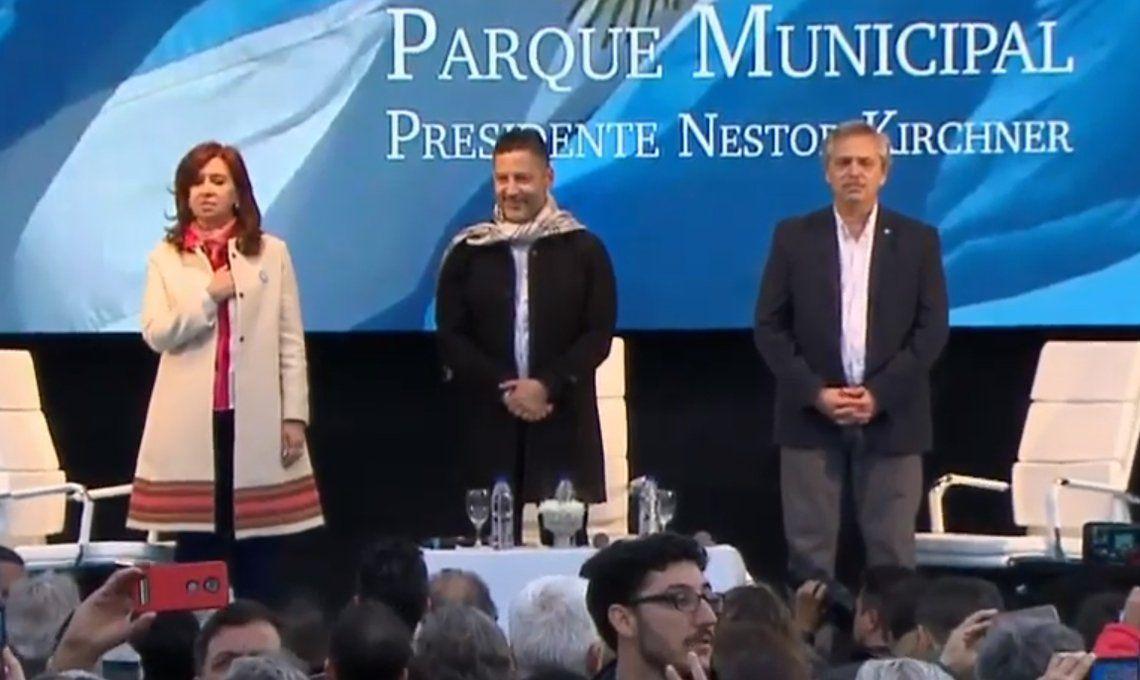 Alberto Fernández con Cristina Kirchner: Vamos a resolver los problemas como hicimos con Néstor