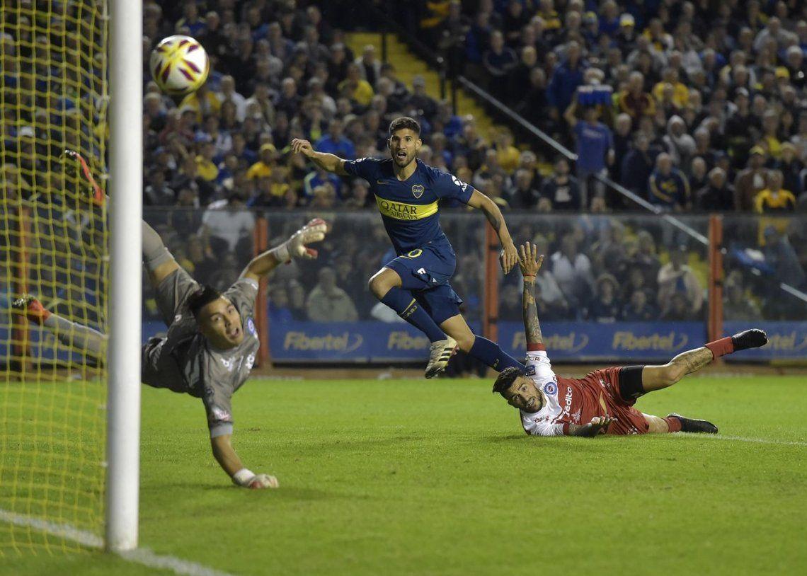 Boca venció con lo justo a Argentinos y es finalista