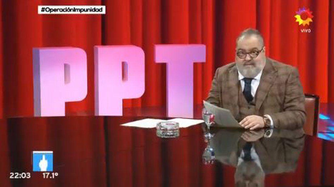 #OperaciónImpunidad | Lanata volvió con PPT y la Operación Puf le dio casi 15 puntos de rating