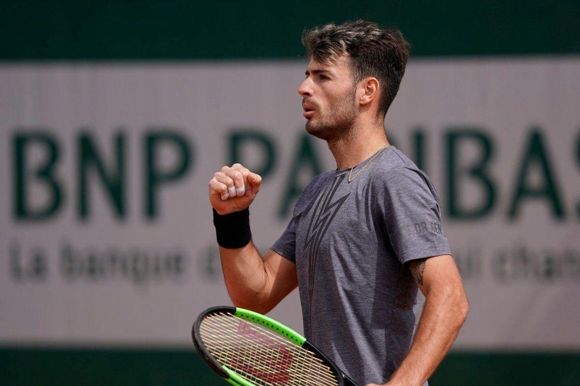 Londero debuta con un triunfo en su primer Grand Slam
