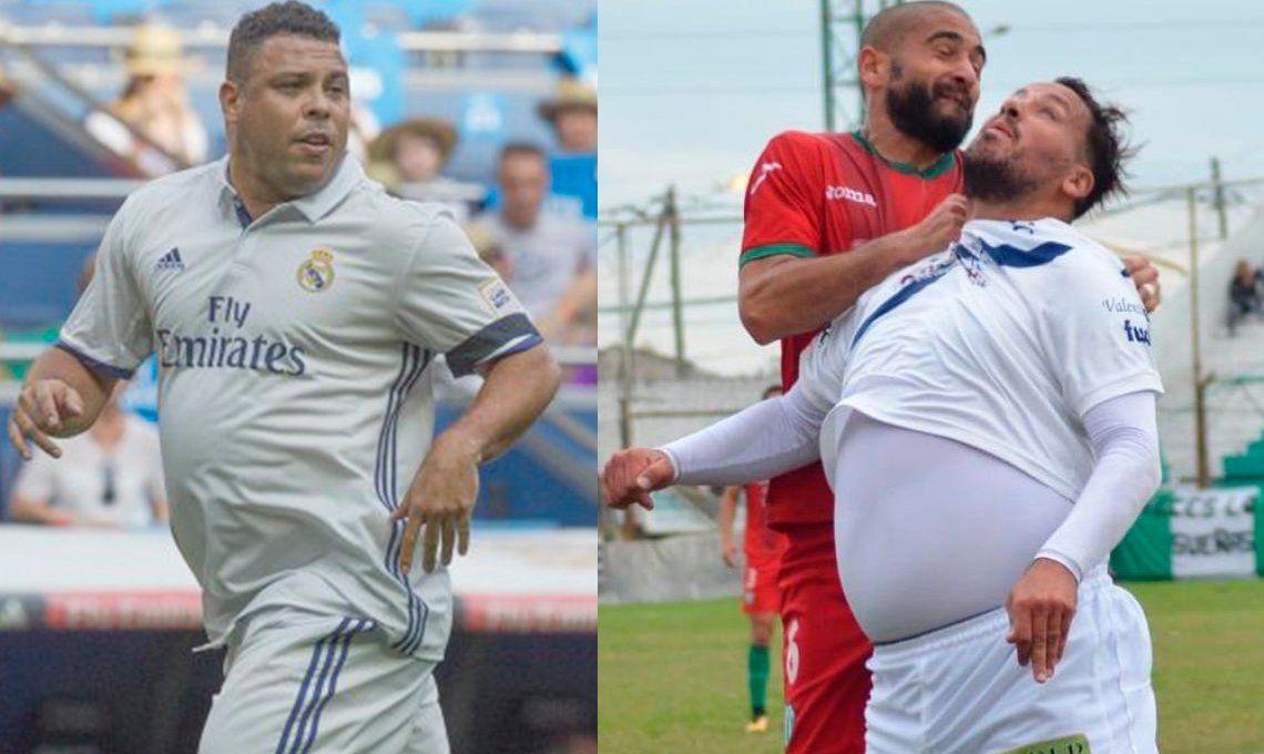 Ronaldo Nazário le dedicó un mensaje al Ogro Fabbiani: Los gorditos hacemos la diferencia