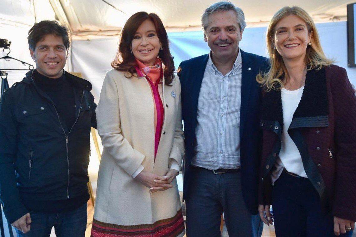 Axel Kicillof y Verónica Magario, confirmados como precandidatos a gobernador y vice de la Provincia de Buenos Aires