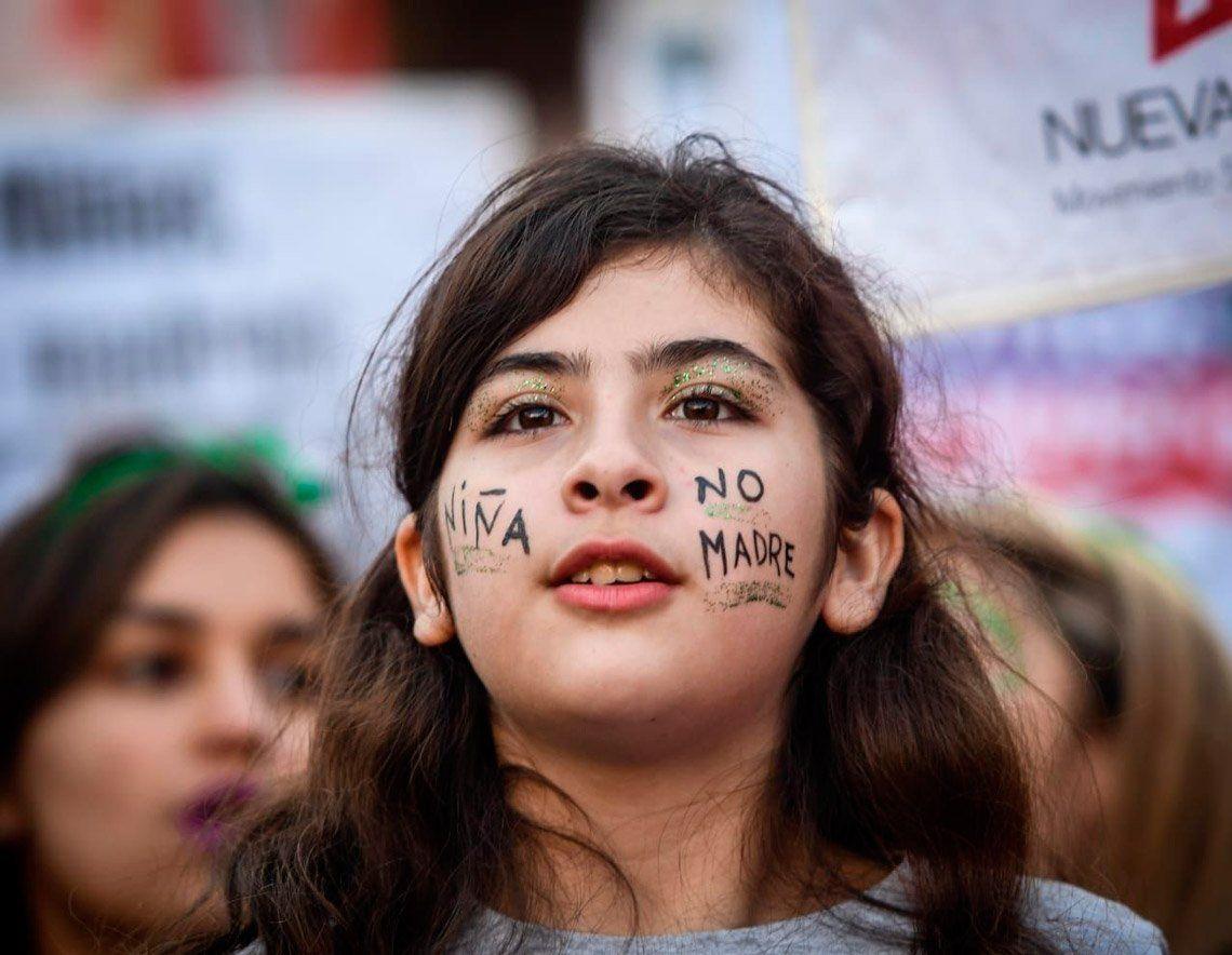 Las fotos del pañuelazo a favor del Aborto Legal, Seguro y Gratuito