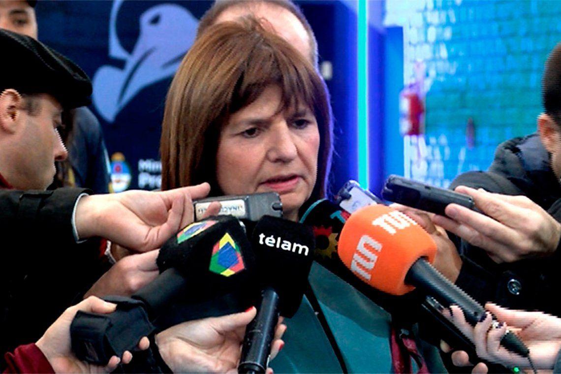 Patricia Bullrich: Estamos hartos de los paros