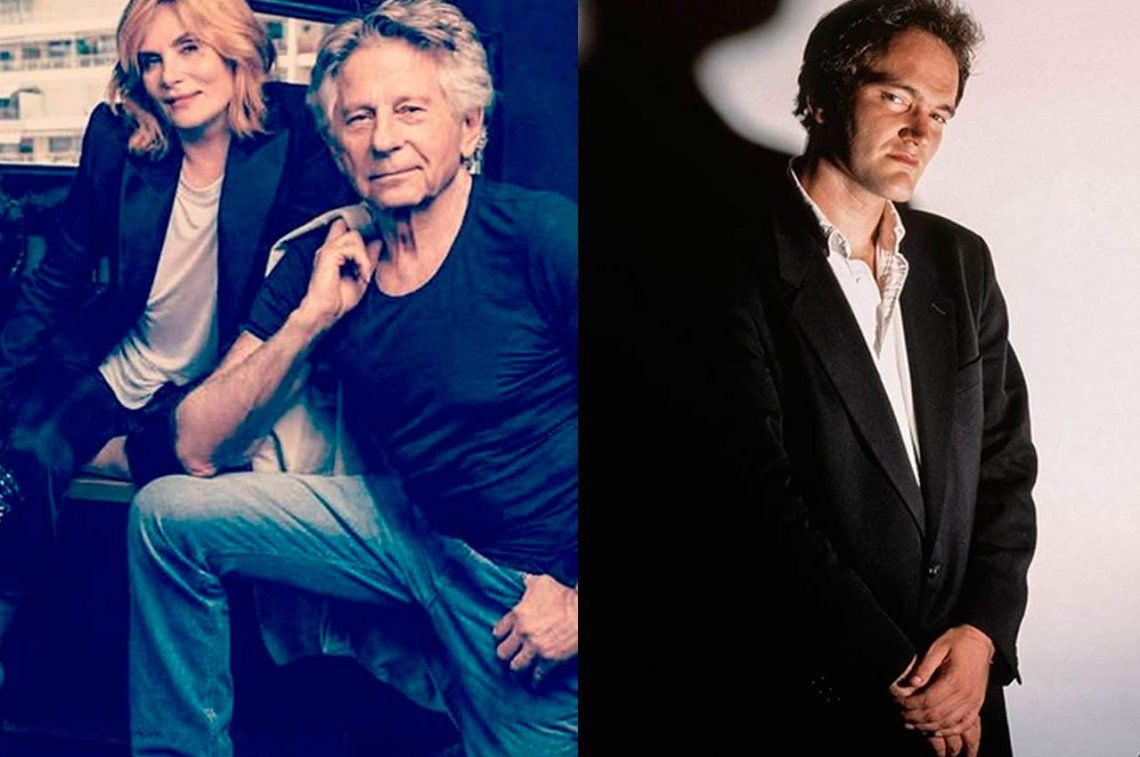 El combate menos pensado de Hollywood: la esposa de Roman Polanski vs Quentin Tarantino