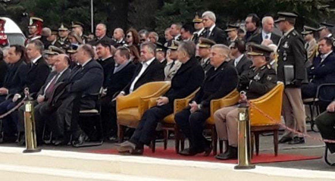 Macri se mostró junto a Stornelli en el acto por el Día del Ejército
