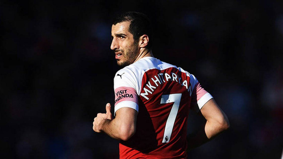 UEFA Europa League: ¿por qué Mkhitaryan no pudo jugar la final entre Arsenal y Chelsea?