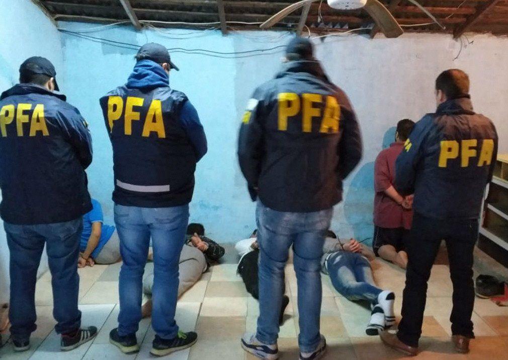 Los presos fueron recapturados tras un operativo llevado a cabo en la Villa Tranquila