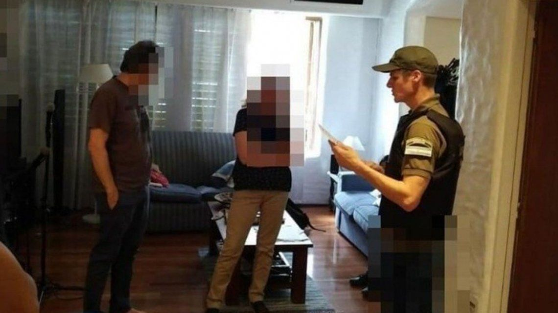 Así fue el allanamiento a la casa de Ricardo Russo, el pediatra detenido por pornografía infantil
