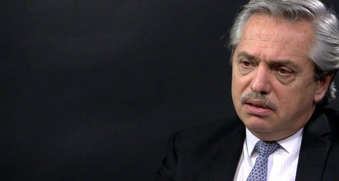 Habló Alberto Fernández y criticó falsas noticias difundidas: Todos los resultados fueron normales