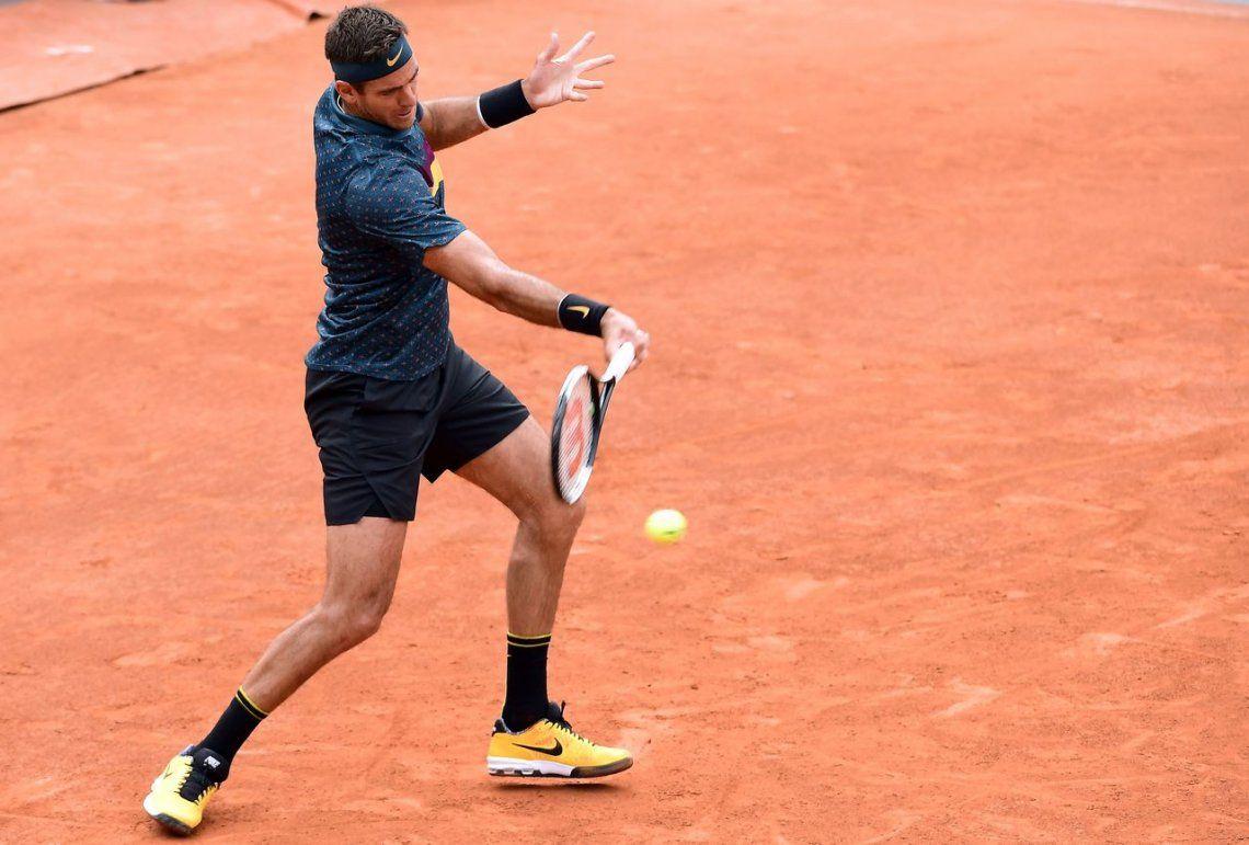Del Potro sufrió, luchó y pasó de ronda en Roland Garros