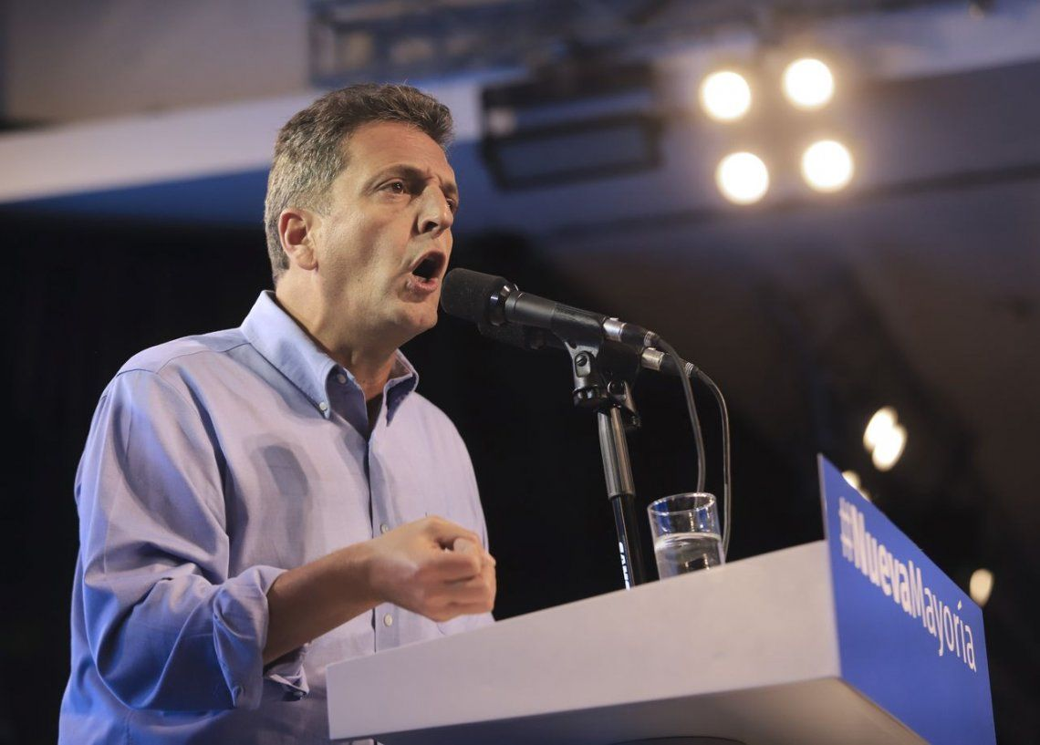 Massa llama a un gran frente para derrotar a Macri
