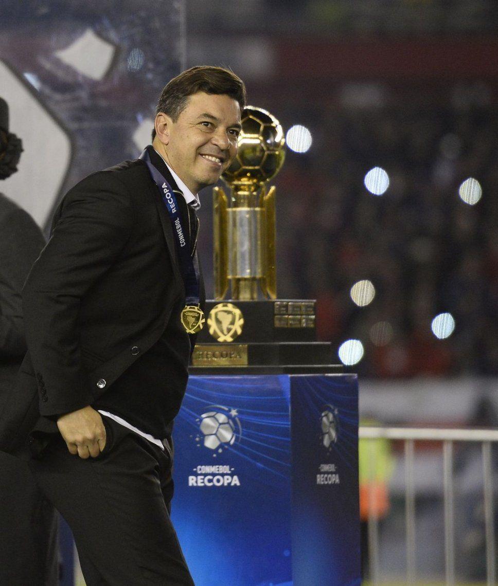 Marcelo Gallardo ya es el técnico más ganador de la gran historia de River