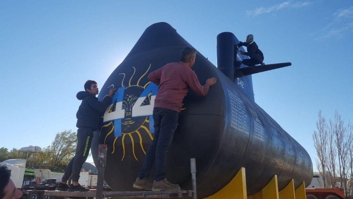 ARA San Juan: pondrán una réplica del submarino en la base naval de Mar del Plata a donde nunca volvió