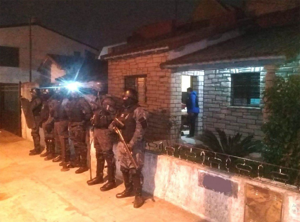 Quilmes: policías se disfrazaron de obreros para atrapar a Picaku, un capo narco