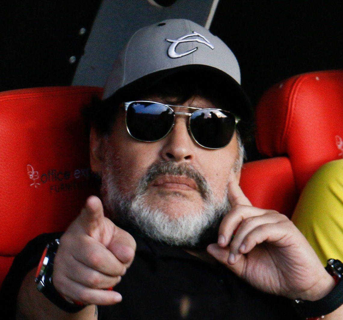Maradona: ¿Vos te das cuenta que nos puede ganar Tonga a nosotros?
