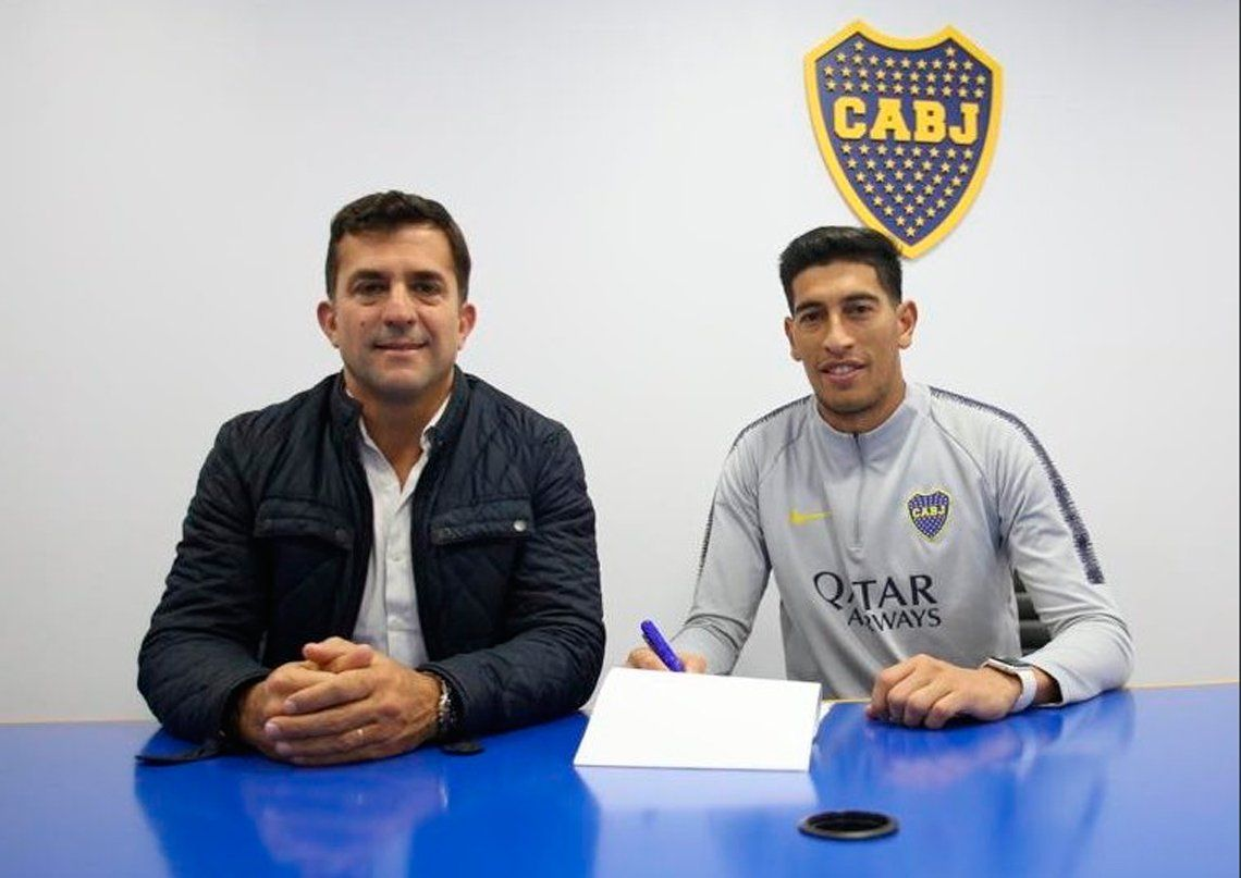 Andrada renovó su contrato con Boca: ganará más y su cláusula de salida será de US$ 25 millones