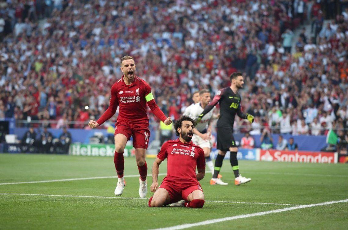 Liverpool fue más que un pobre Tottenham y se llevó la Champions después de 14 años