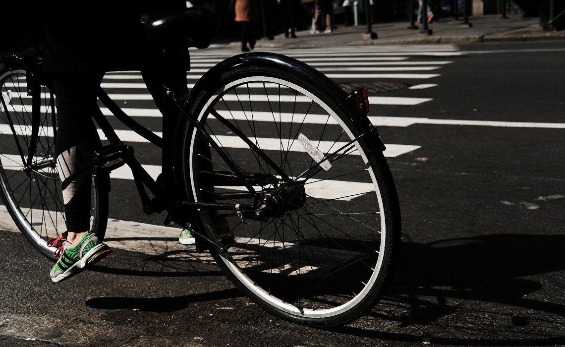 Remarcan que muchas veces los ciclistas no ponen en práctica normas elementales de seguridad.