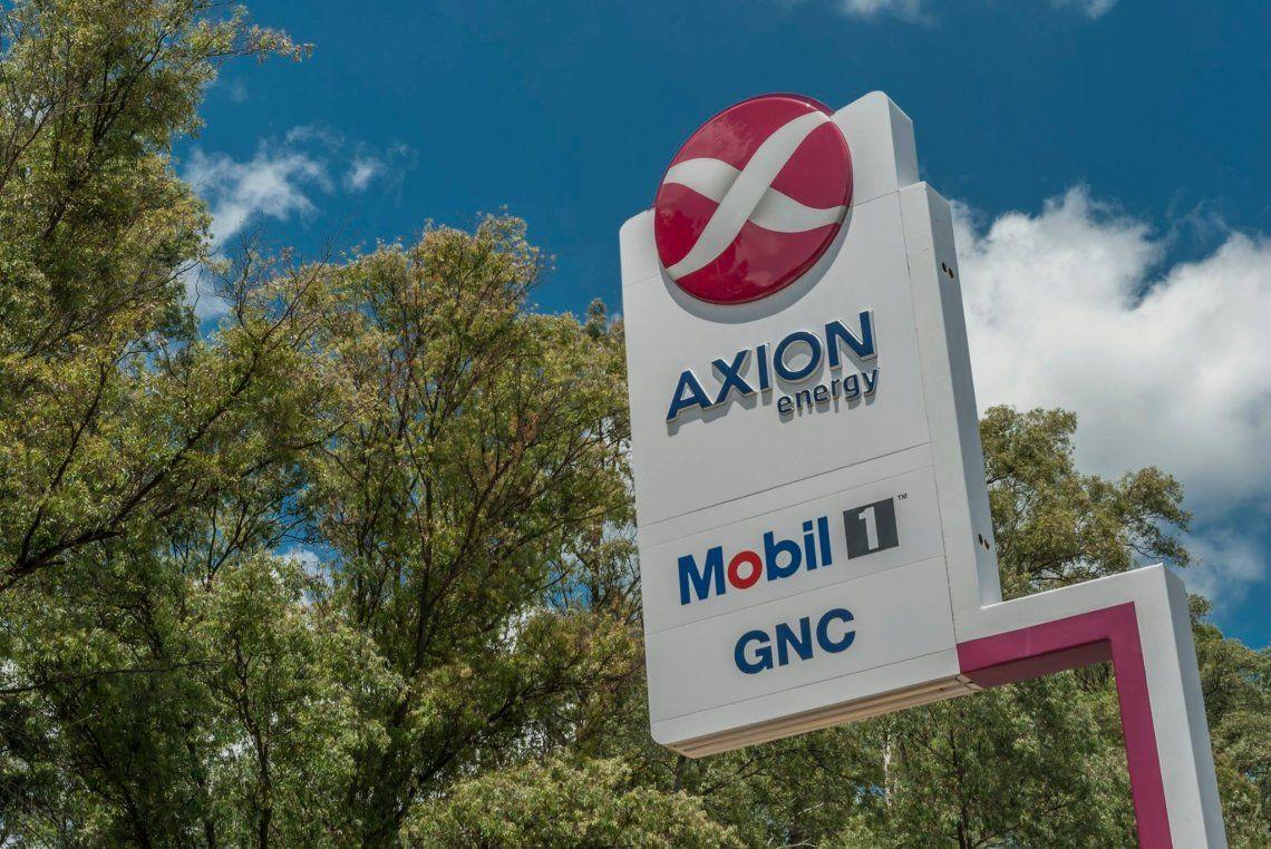 Axion también decidió subir el precio de sus combustibles