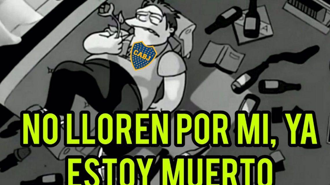 Boca otra perdió otra final y estallaron los memes: Benedetto, el más apuntado