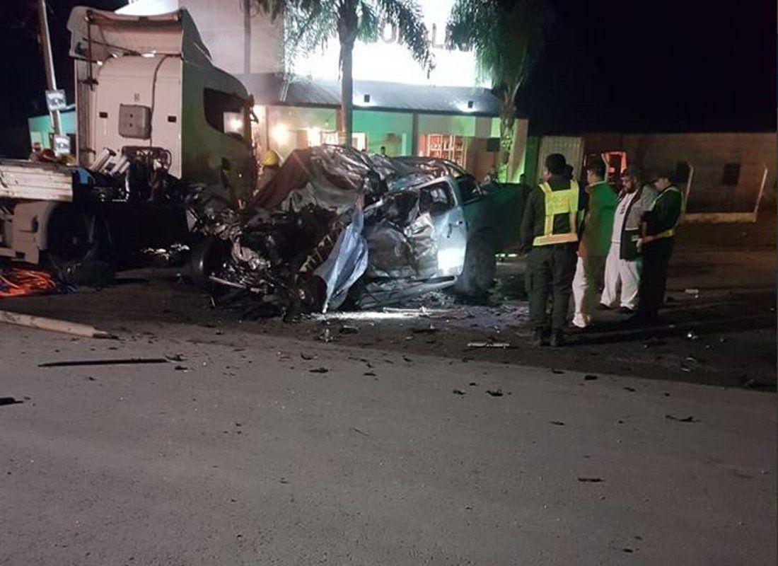 Choque trágico en Sunchales: seis muertos, entre ellos una menor