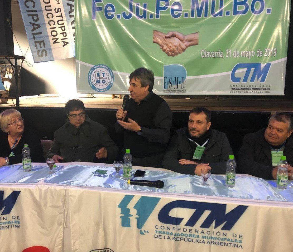 Cholo García lanzó una federación de jubilados y pensionados