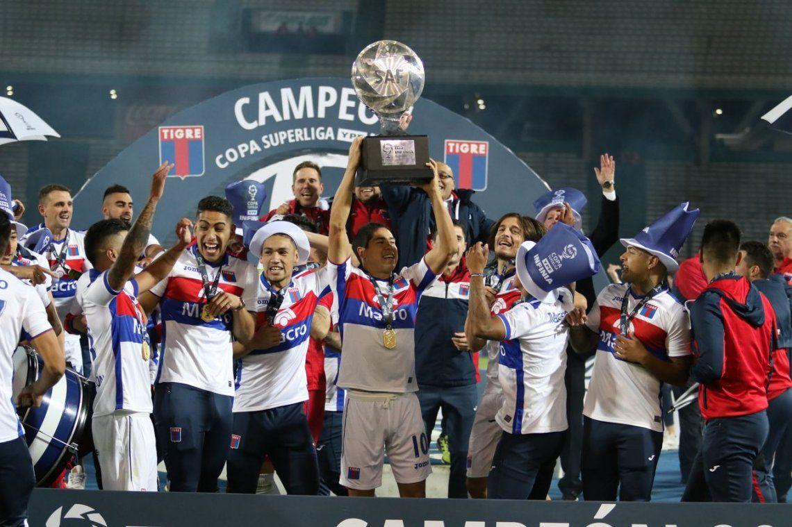 Las fotos de Tigre, el campeón de la Copa de la Superliga