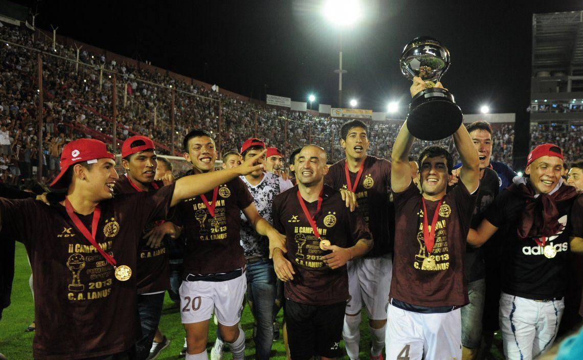 Lanús supo ser campeón de la Copa Sudamericana en 2013