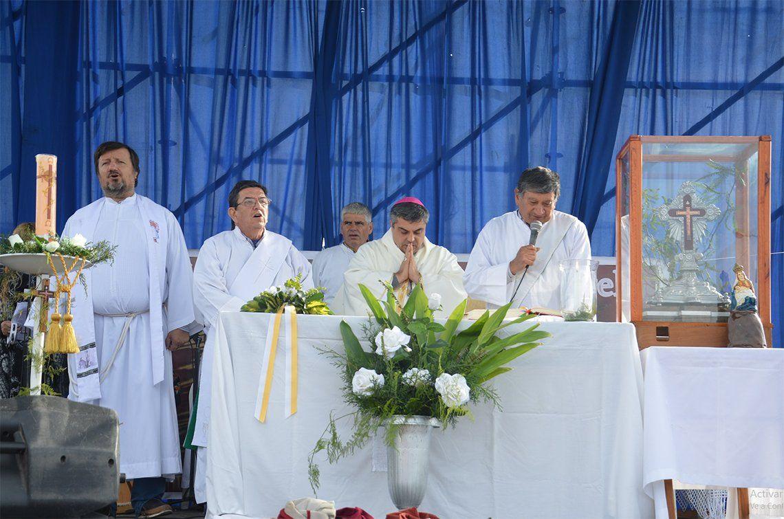 Florencio Varela: miles de fieles en la fiesta de Mailín