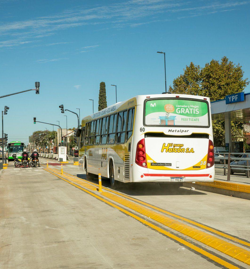 El Metrobus de Quilmes tiene 8