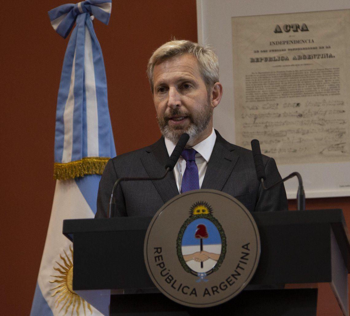 Frigerio expresó su confianza por los resultados en Mendoza y Jujuy el domingo.