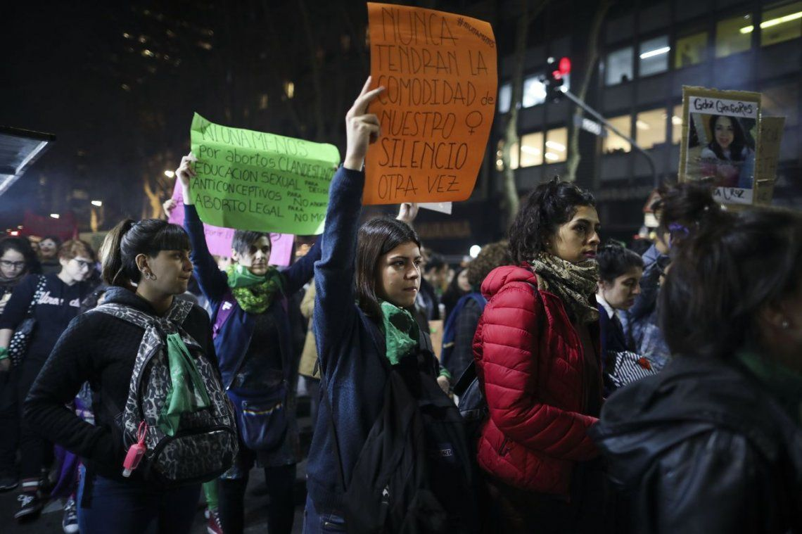 Ni Una Menos: las fotos de la marcha contra la violencia de género