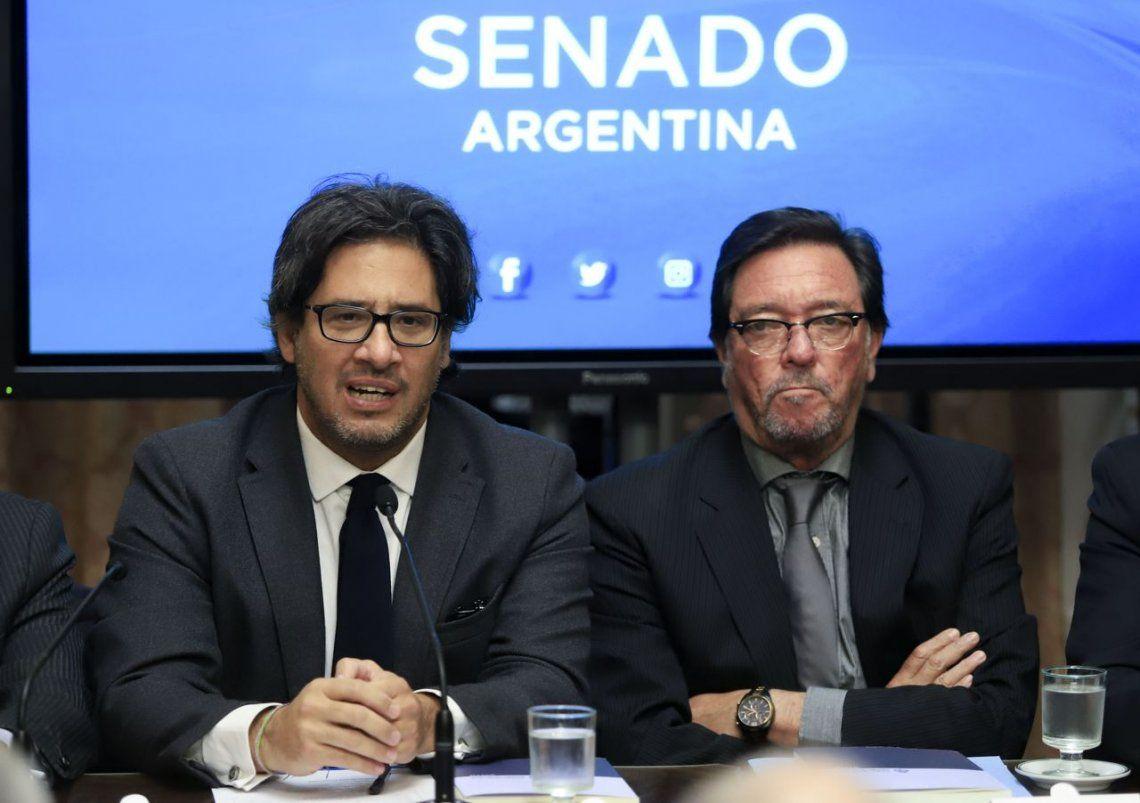 Garavano presentó el proyecto del nuevo Código Penal en el Senado y convocó un debate plural para aprobarlo