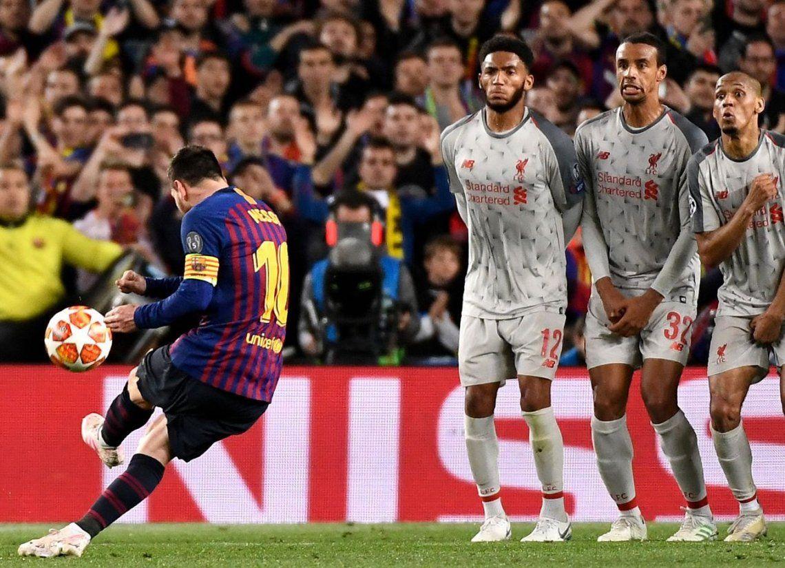Un gol de Lionel Messi fue elegido como el mejor de la Champions League 2018/2019