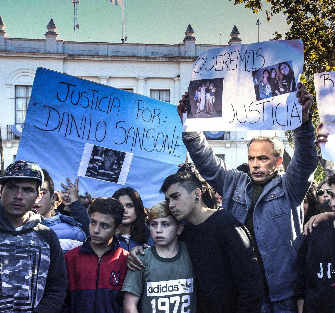 El pueblo de Monte se movilizó varias veces para exigir justicia.