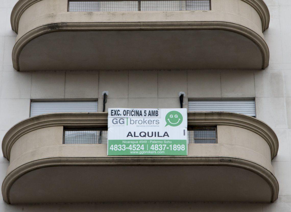 El organismo oficial verificó incrementos en las unidades habitacionales porteñas que ascienden hasta el 34