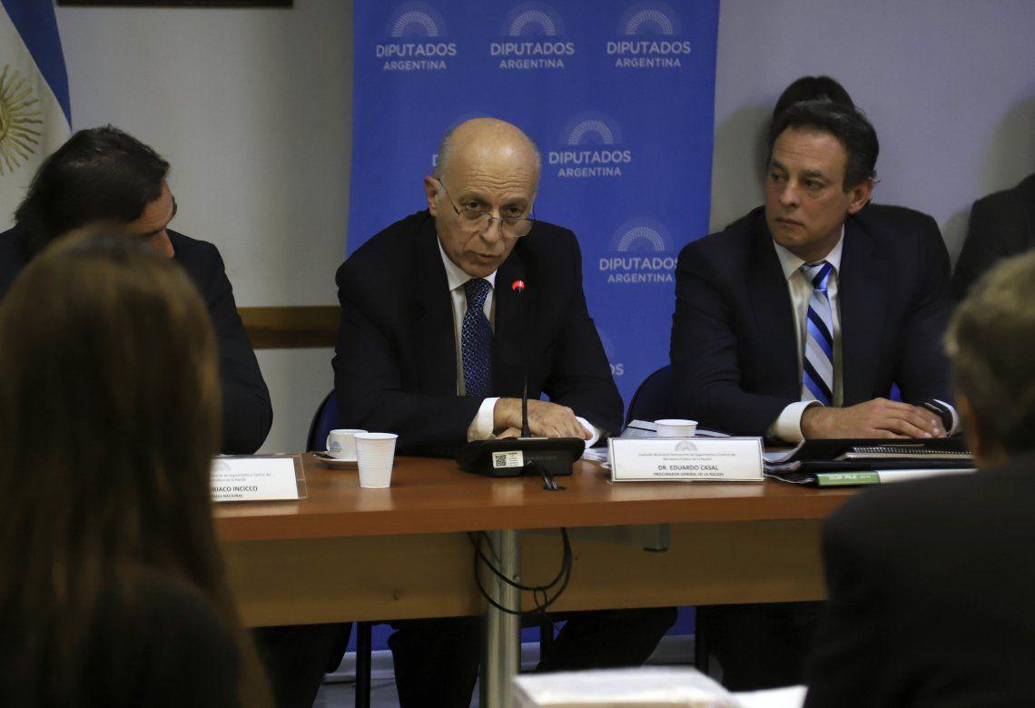 El procurador general de la Nación expuso en el anexo de Diputados ante la Comisión Bicameral.