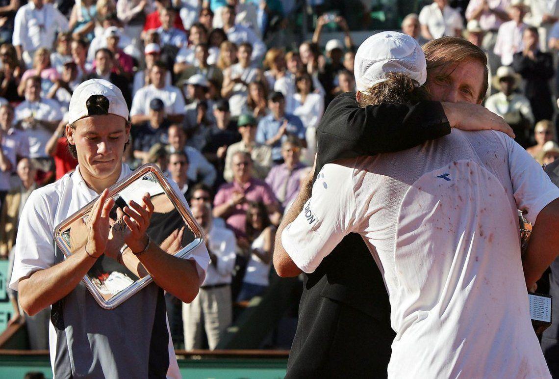 A 15 años de Gaudio campeón de Roland Garros: un par de centímetros que pueden cambiar tu vida