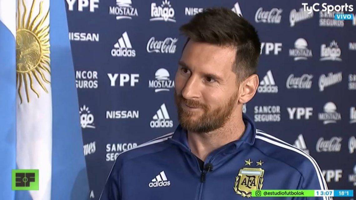 Lionel Messi y sus 10 frases más destacadas