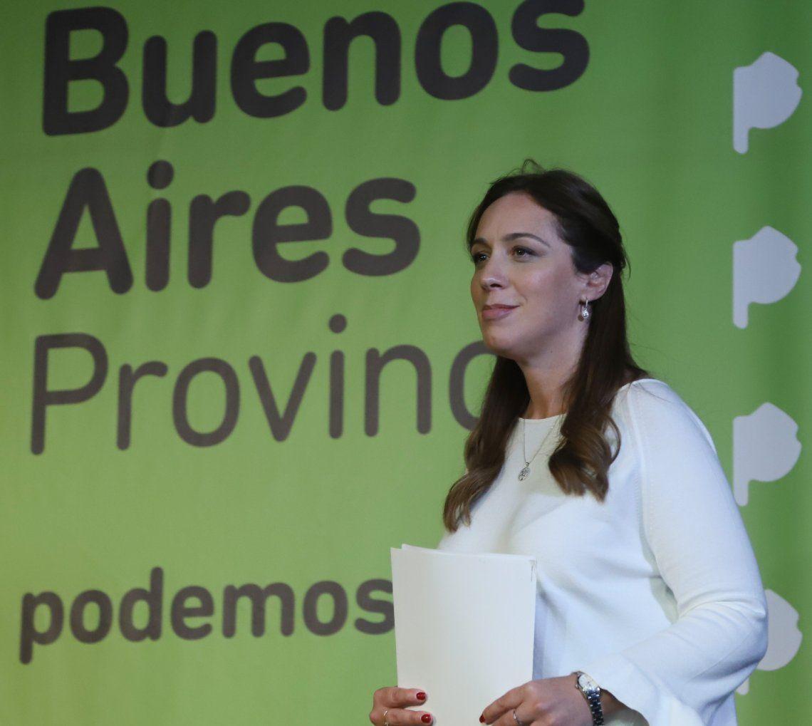 La gobernadora tiene a su cargo la negociación con el Peronismo Federal.