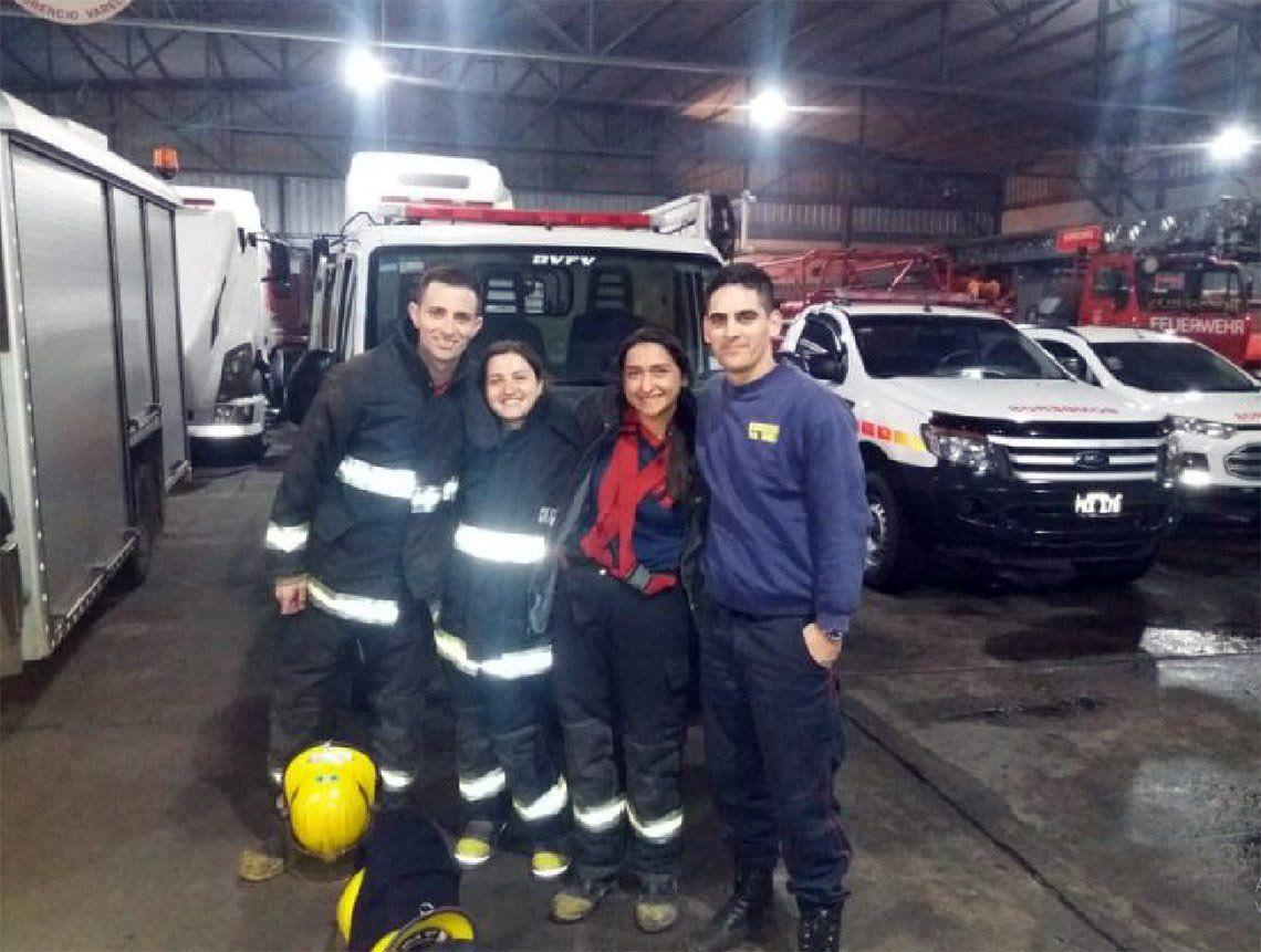 Florencio Varela: bomberos le salvaron la vida a bebé de 14 días