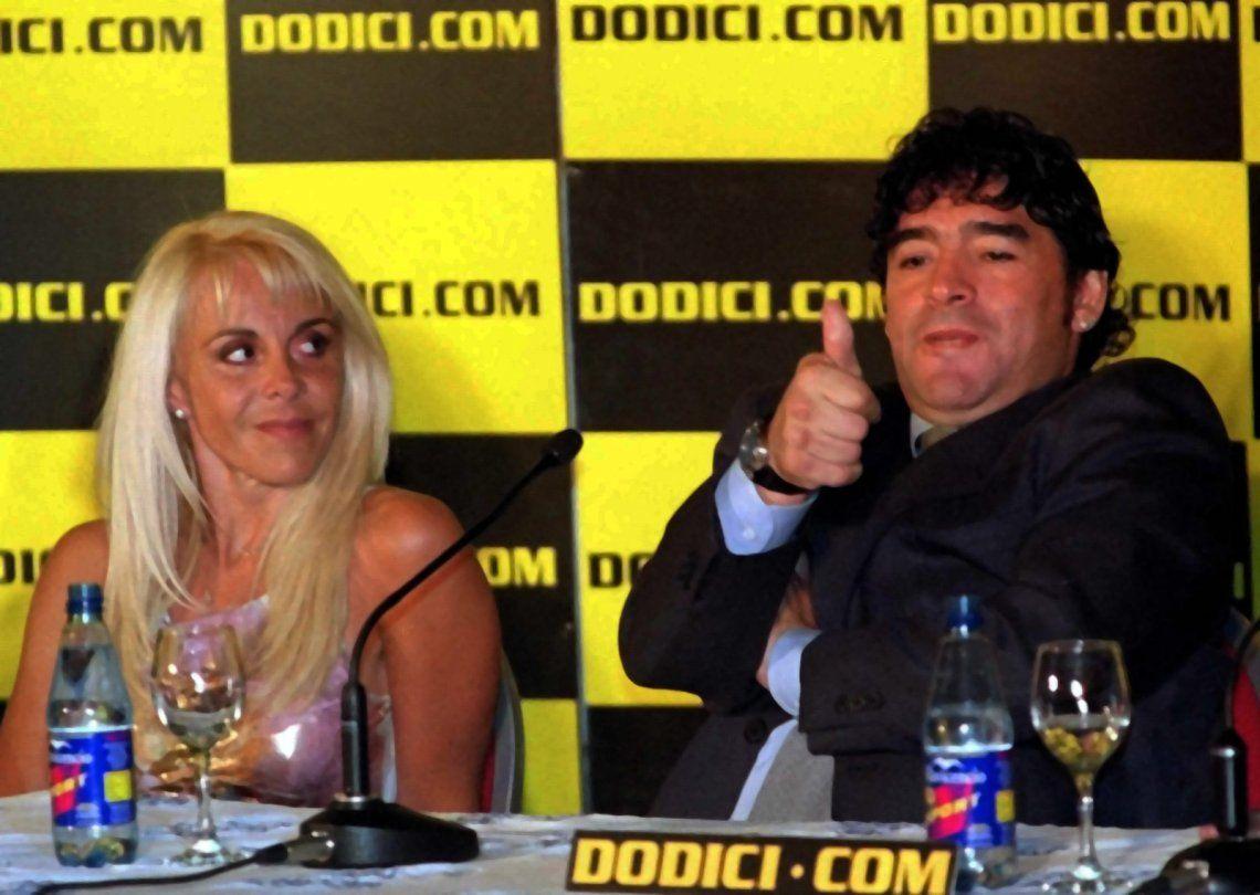 A ver si tenés huevos para ir al Juzgado: el predictivo desafío de Claudia Villafañe a Diego Maradona