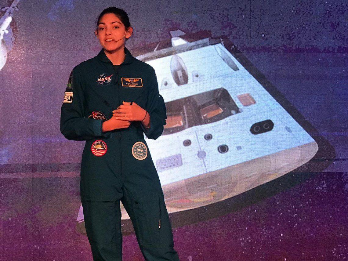 Alyssa Carson, la joven astronauta blueberry que se prepara para pisar Marte: Mi generación será la que lo colonice