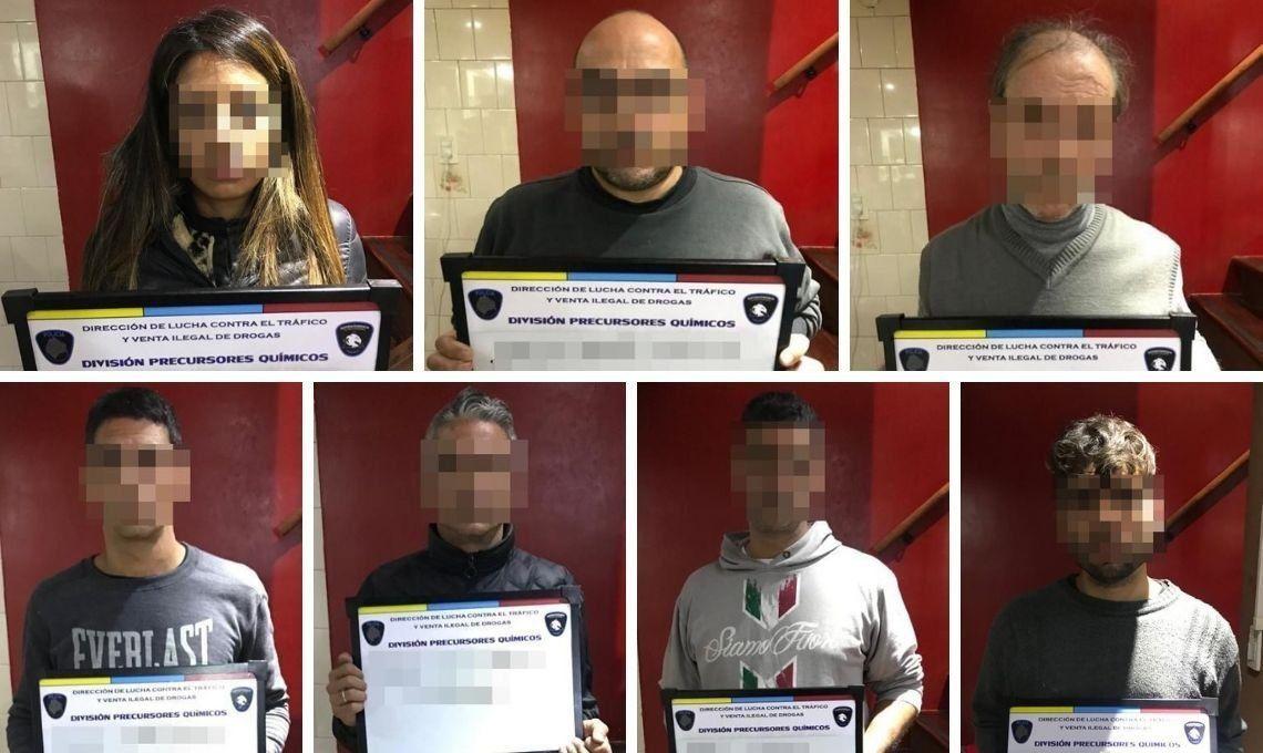 Golpe al narcotráfico: cayó la banda de El Alemán y detuvieron a ocho personas