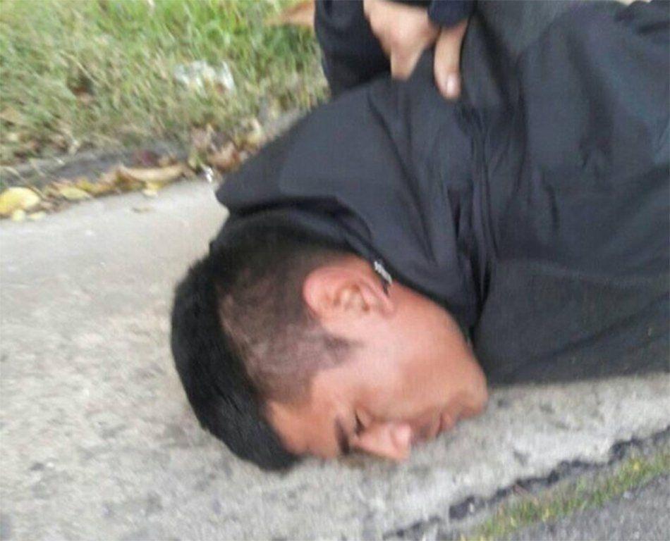 Berazategui: vecinos atraparon y golpearon a un ladrón