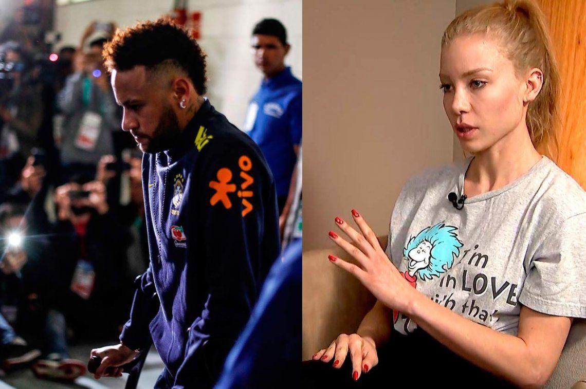 Se filtraron audios y conversaciones de Neymar con la joven a la que habría violado: Tú fuiste culpable de las marcas, me pedías más