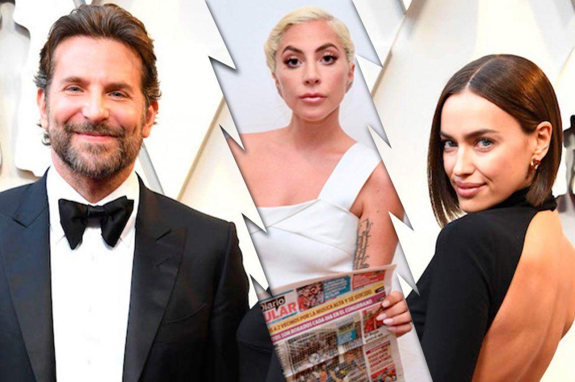 Bradley Cooper rompió con Irina Shayk después de 4 años... ¿por Lady Gaga?