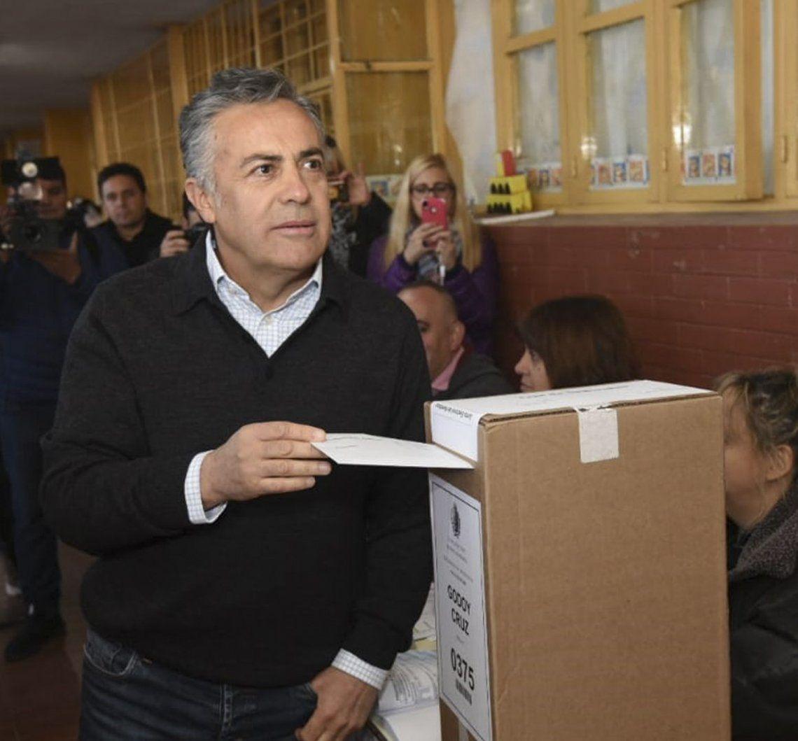 PASO Mendoza: Suárez obtuvo la candidatura de Cambiemos, pero la ventaja frente al PJ es corta