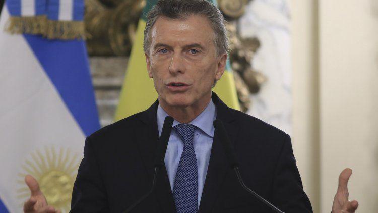En su mensaje, Macri insistió en que esto está hecho en base al espíritu emprendedor de los argentinos.